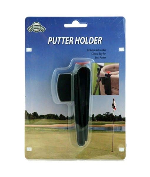on course putter holder