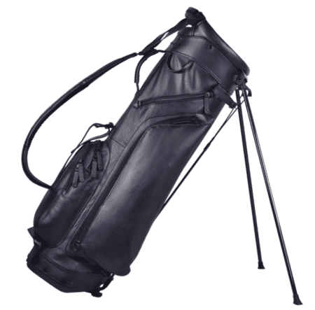 Sun Mountain Black Leather Stand Bag Golf