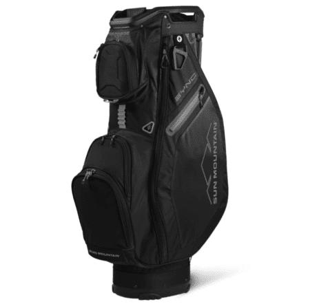 SUNMOUNTAIN SYNC BLACK CART BAG GOLF